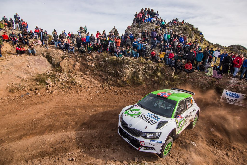 Ole Christian Veiby / Stig Rune Skjærmoen, ŠKODA FABIA R5, EVEN. Rally Argentina 2018