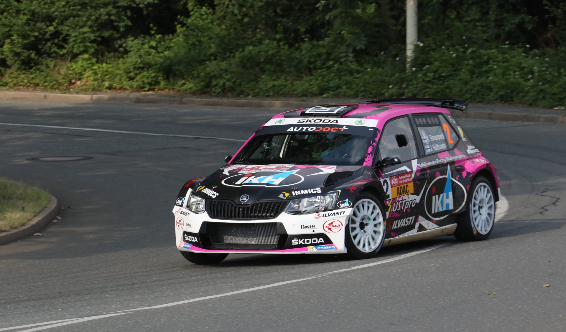 Kalle Rovanperä dominoval Sachsen Rally, 5 ze 6 předních pozic získaly vozy FABIA R5