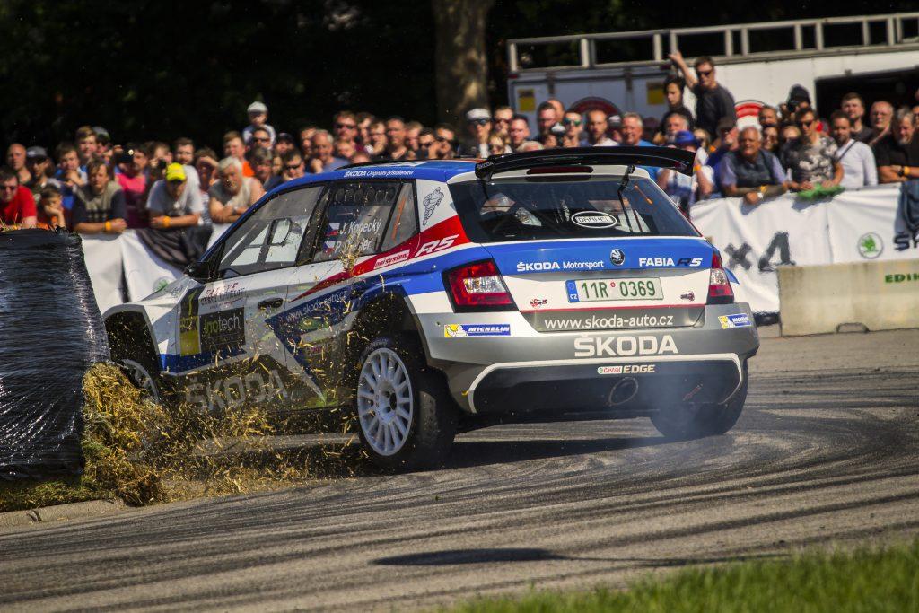 Jan Kopecký / Pavel Dresler, ŠKODA FABIA R5, ŠKODA Motorsport. Rallye Český Krumlov 2018