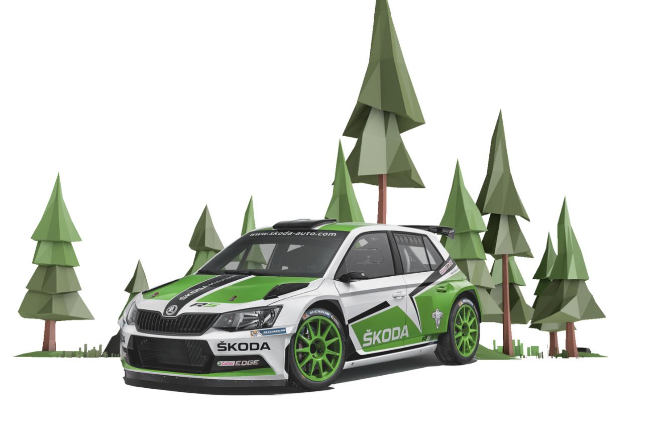 Race FABIA R5 Anywhere You Go with MOTORSPORT AR App