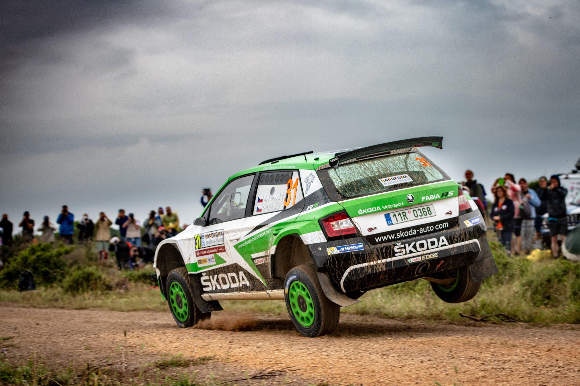 O. C. Veiby zvítězil v shakedownu na Rally Italia Sardegna