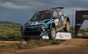 Łukasz Pieniążek / Przemysław Mazur, ŠKODA FABIA R5, Printsport Oy. Rally Italia Sardegna 2018