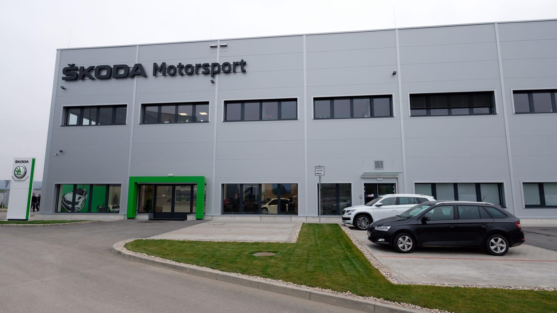 Představujeme nový domov oddělení ŠKODA Motorsport