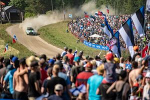 Kalle Rovanperä / Jonne Halttunen, Rally Finland 2018