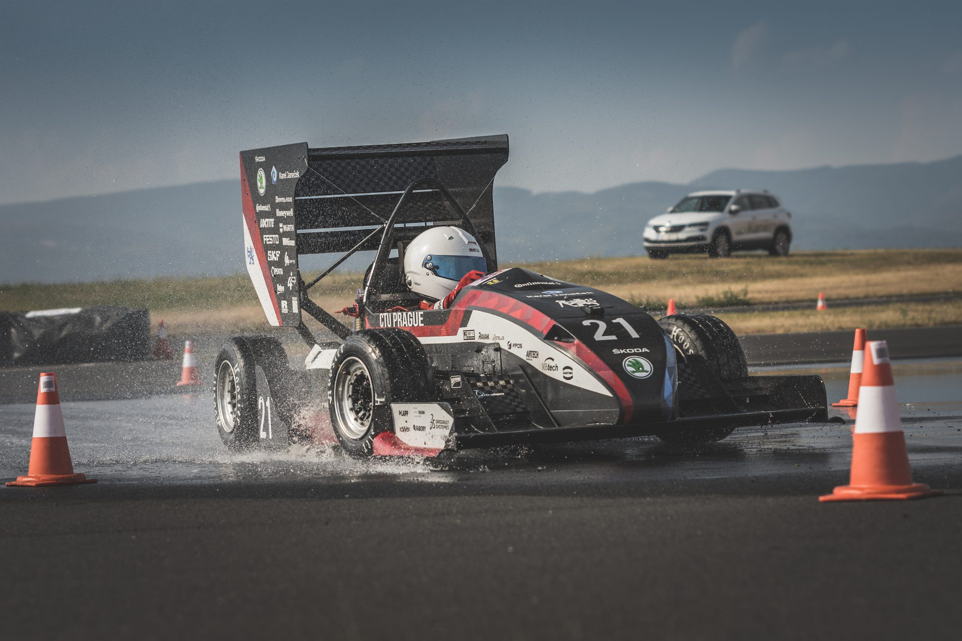 Formula Student Czech Republic 2018: Great Competition Cut Short by the Storm