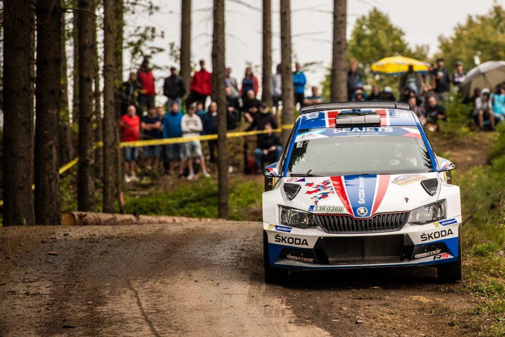Jan Kopecký / Pavel Dresler, FABIA R5, Barum Czech Rally Zlín