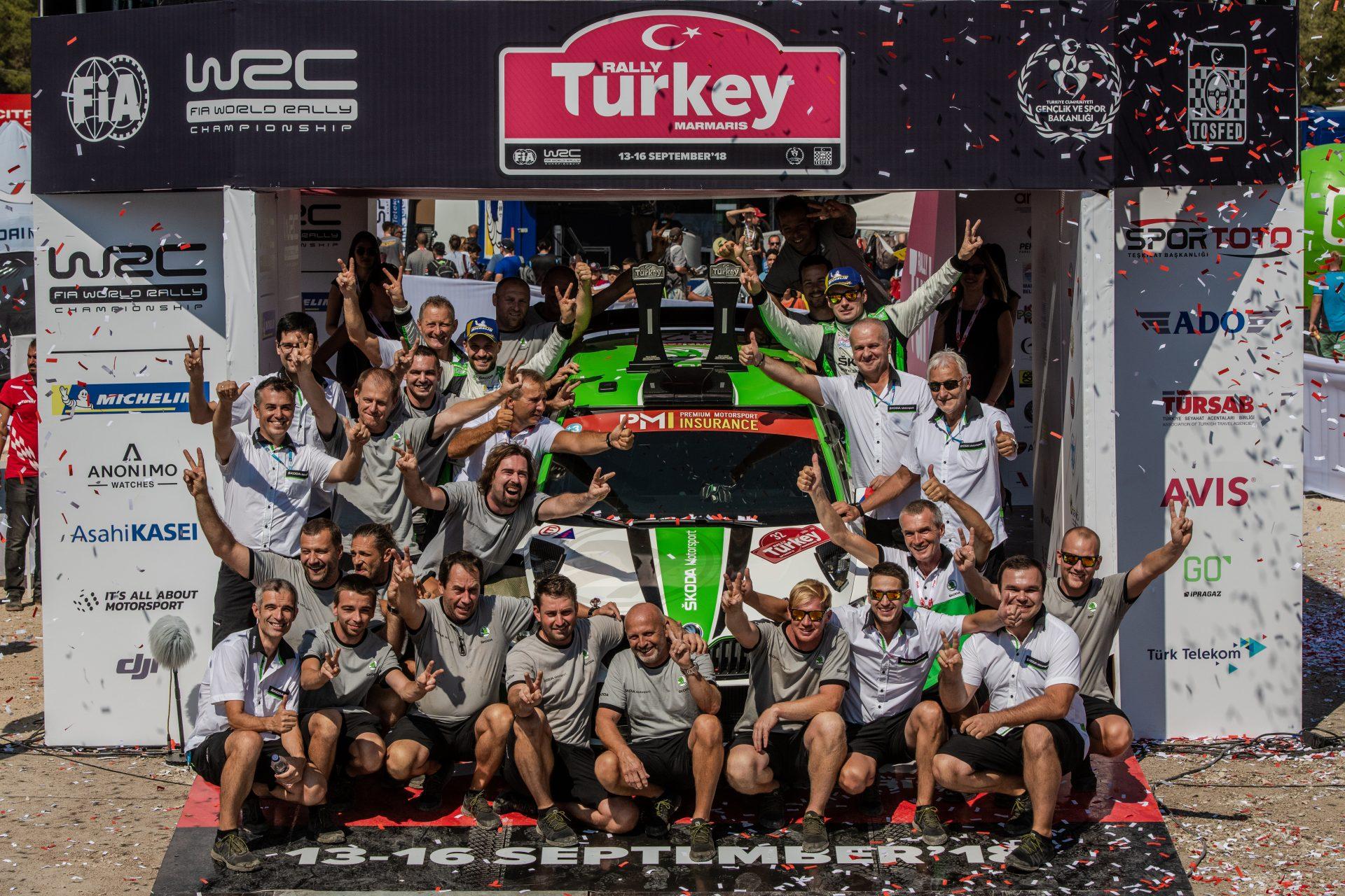 Čtyři mistrovské roky: Jak FABIA R5 získala nadvládu ve WRC 2