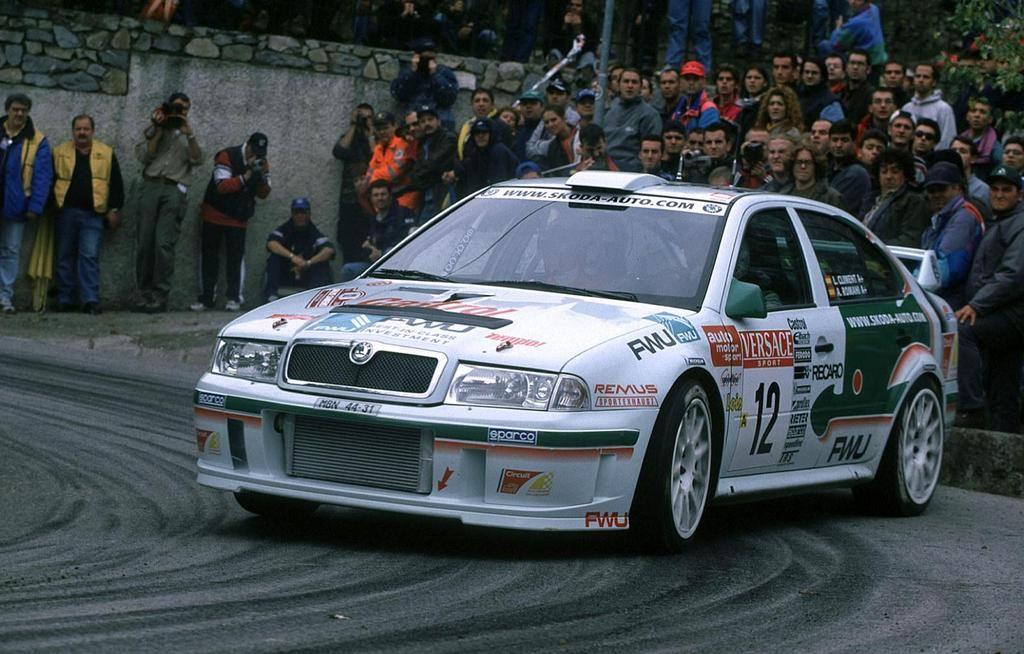 Luis Climent: Opomíjené slavné jméno za volantem vozu OCTAVIA WRC