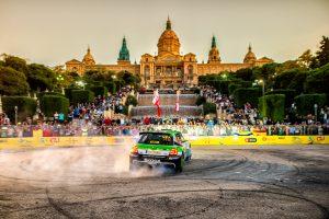 Kalle Rovanperä / Jonne Halttunen, FABIA R5, RallyRACC Catalunya 2018