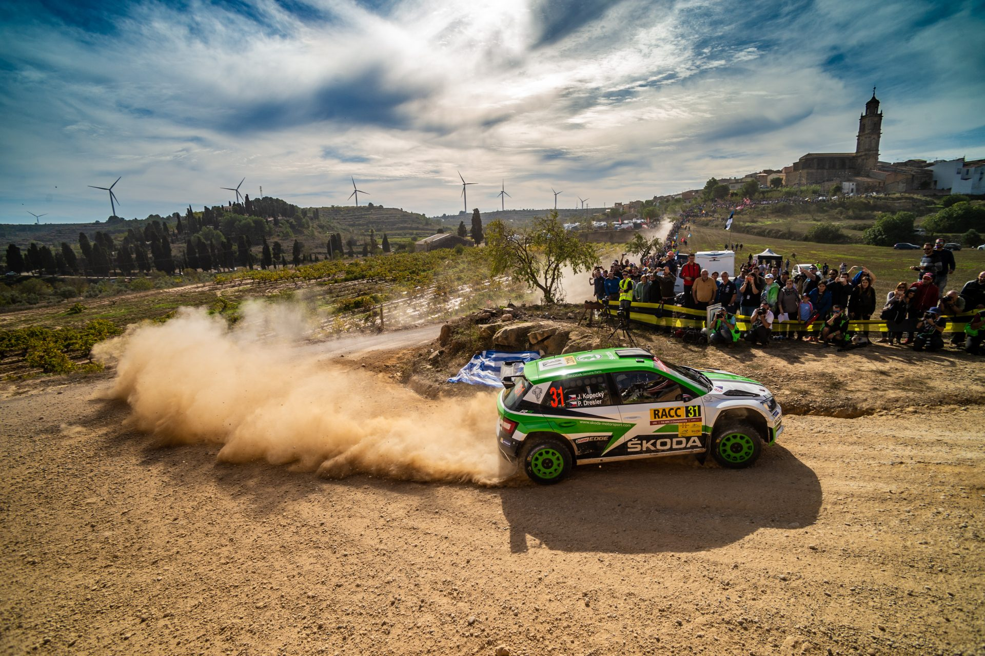 3 Things You Need to Know About Dust in Rallying | FABIA R5: The Dust Monster
