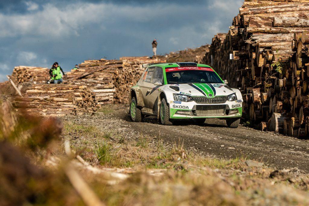Kalle Rovanperä / Jonne Halttunen, FABIA R5, Wales Rally GB 2018