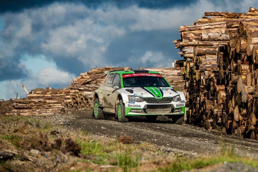 Pontus Tidemand / Jonas Andersson, FABIA R5, Wales Rally GB 2018