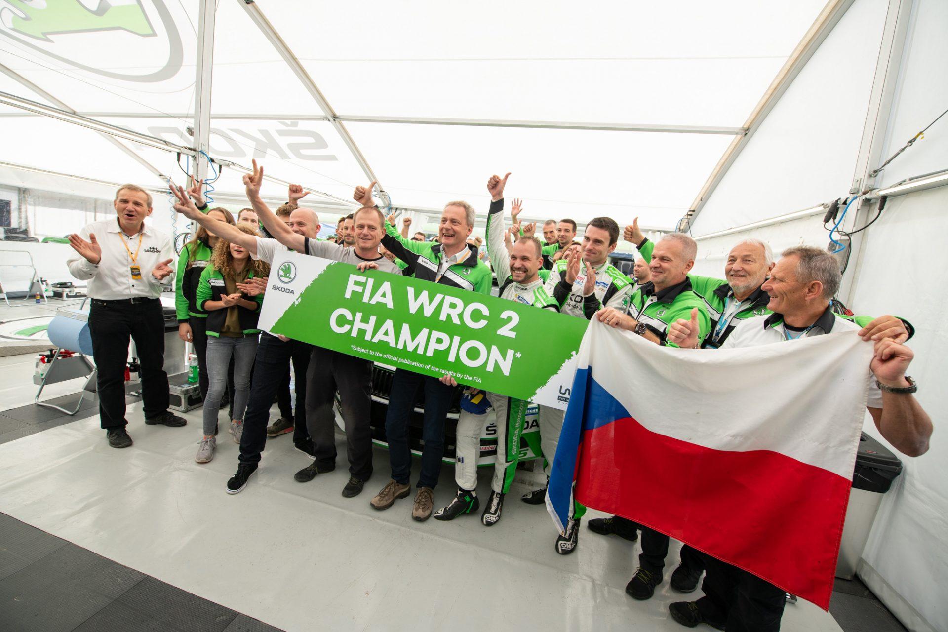 Sezóna snů: Rok 2018 týmu ŠKODA Motorsport ve WRC 2