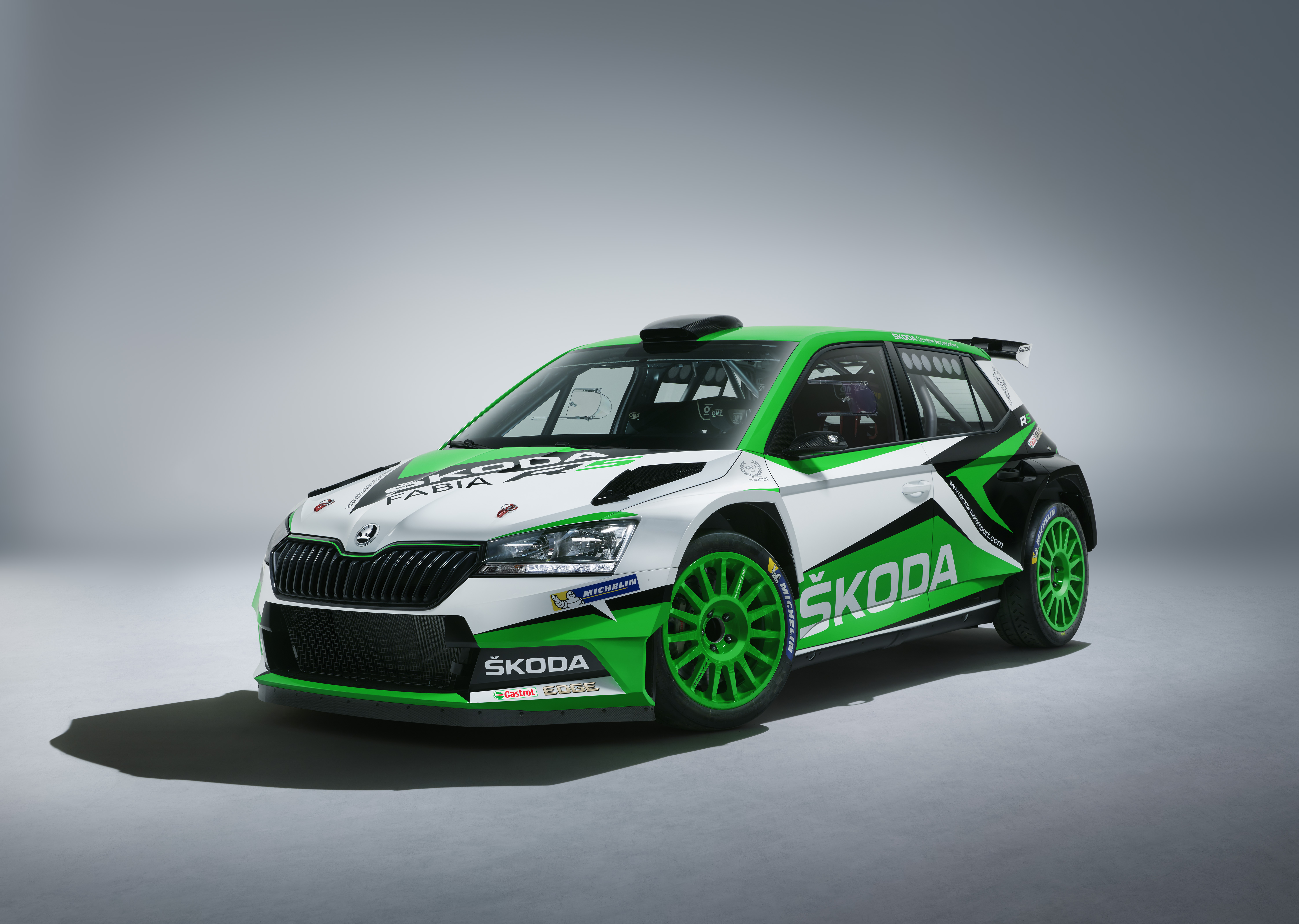 A New Face For The Winner Skoda Motorsport Presents A Design Study With Elements Of 2019 Fabia Skoda Motorsport
