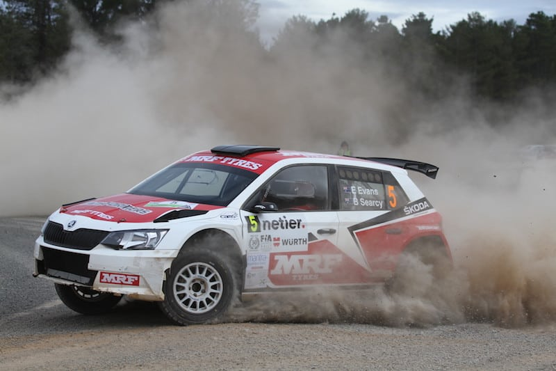 Eli Evans: FABIA R5 switch reignites season and pushes Evans to within touching distance of the title