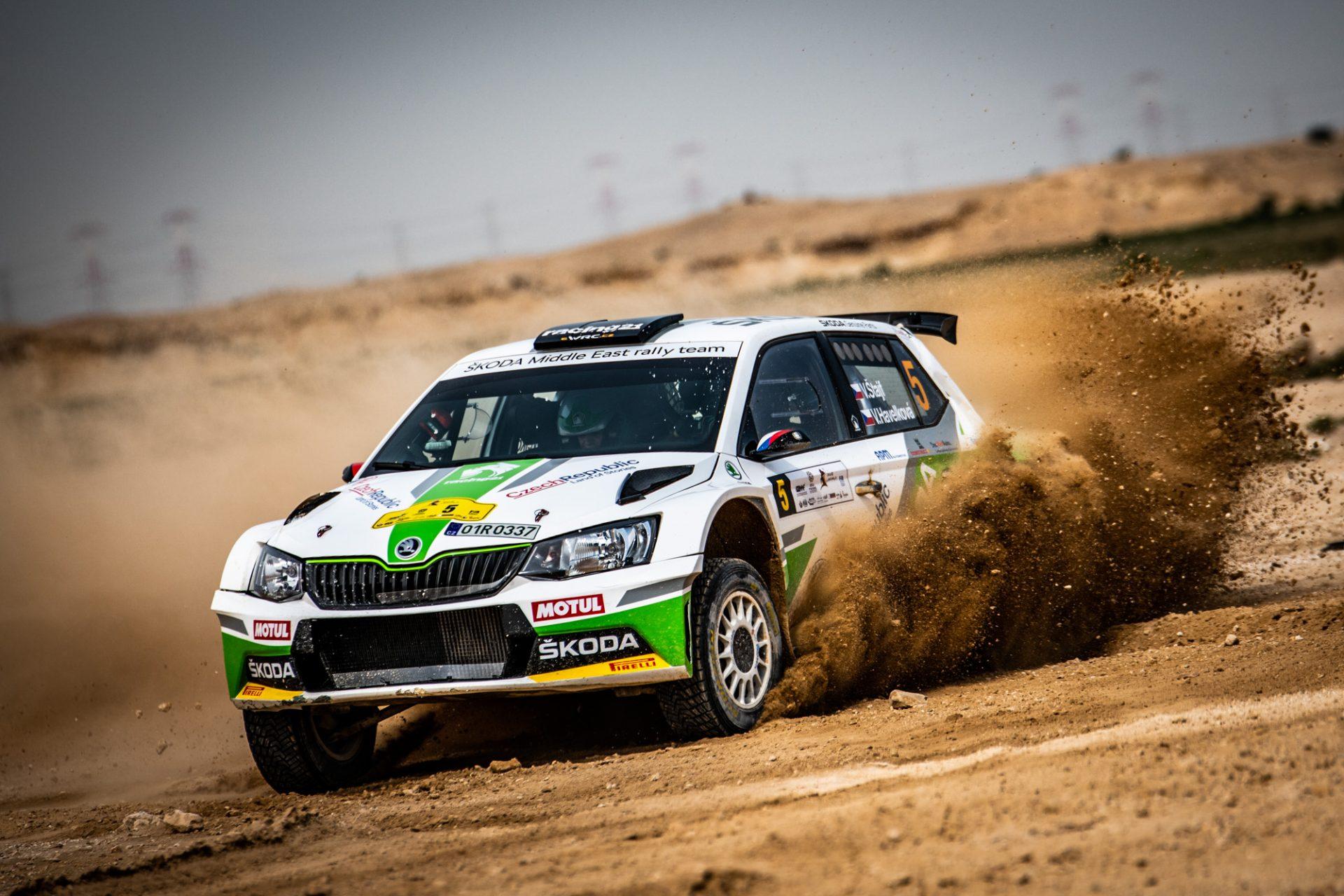 FABIA R5 Crew Štajf/Havelková Rewrites History of Rally of Qatar | MERC