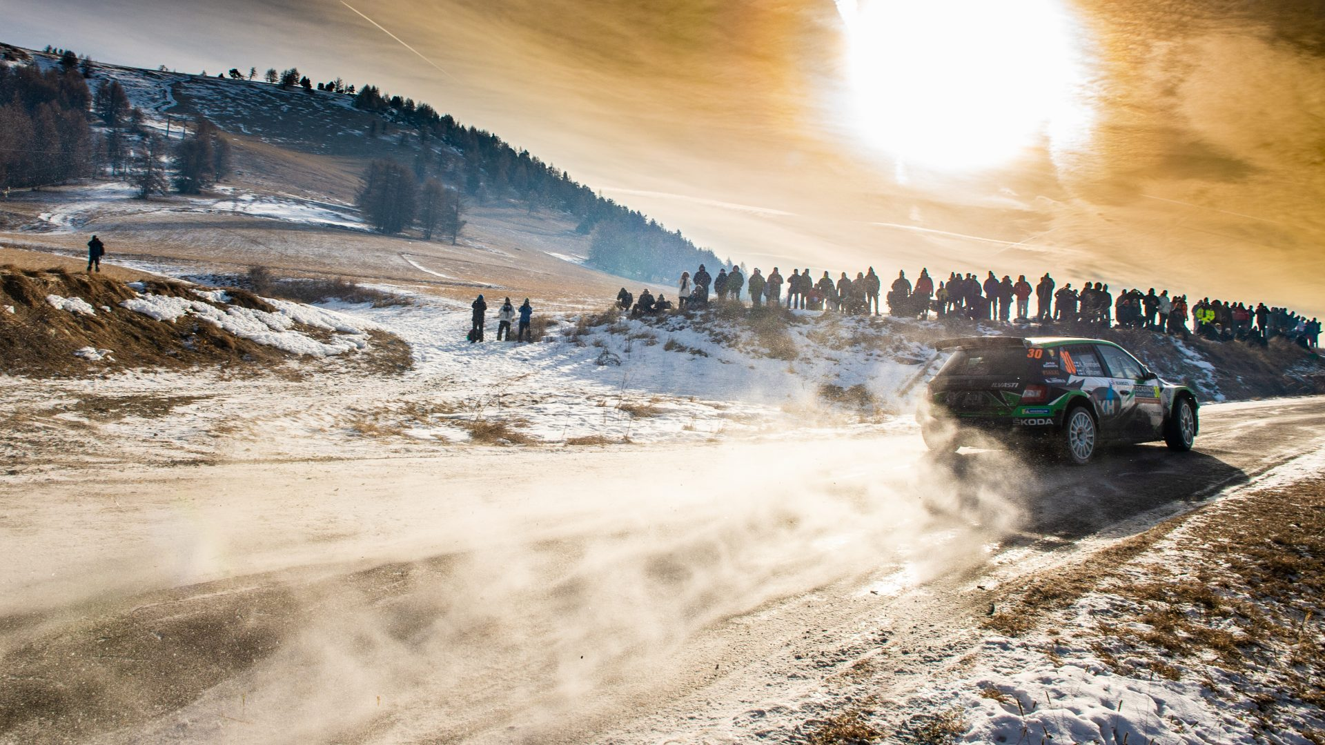 The World Rally Championship Traditionally Begins with Monte Carlo Rally