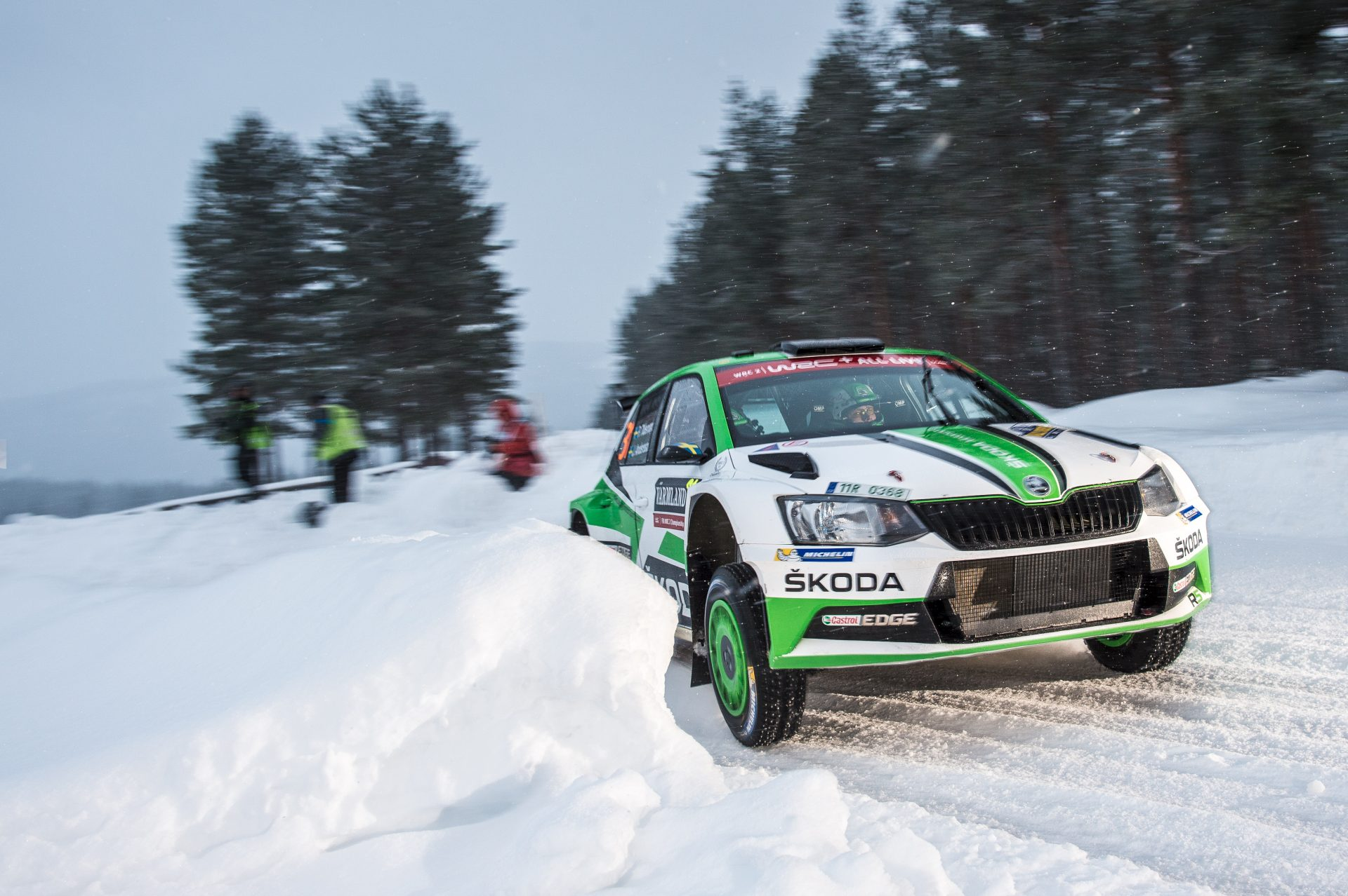 Speed on Ice: FABIA R5s to Enter the Zell am See GP Ice Race