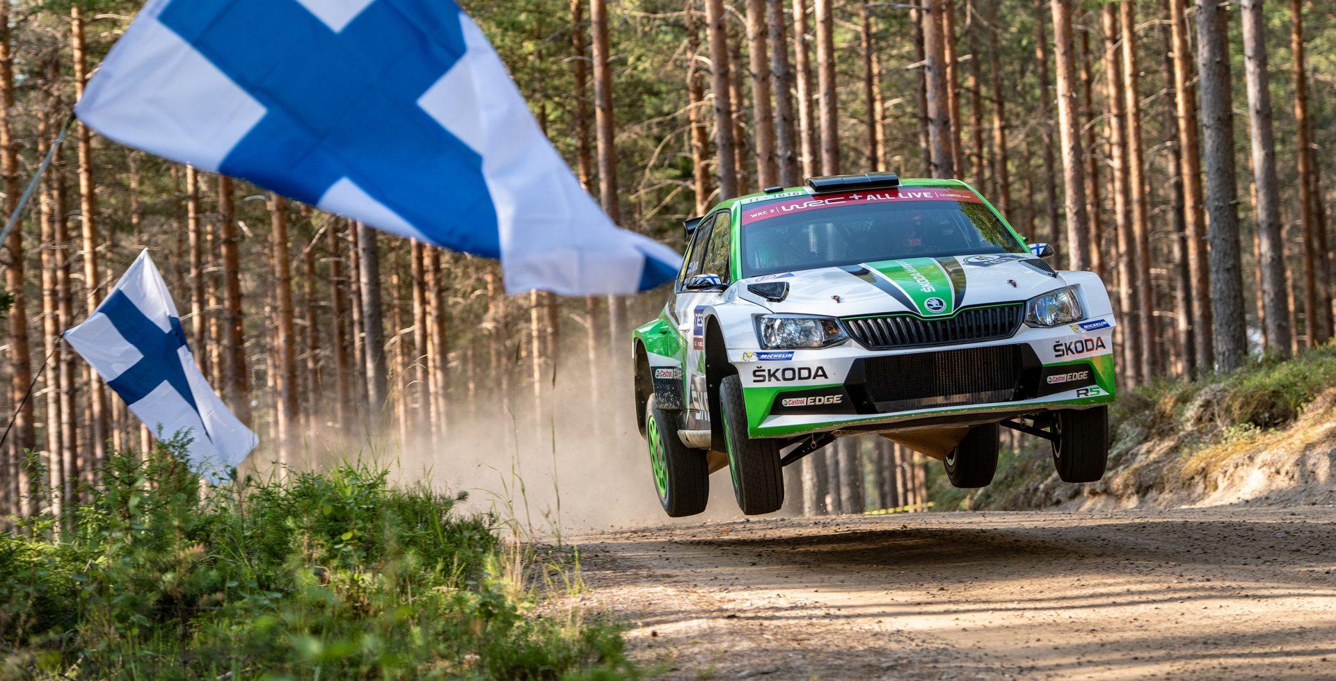 Začíná Finská rallye, nejrychlejší ze všech