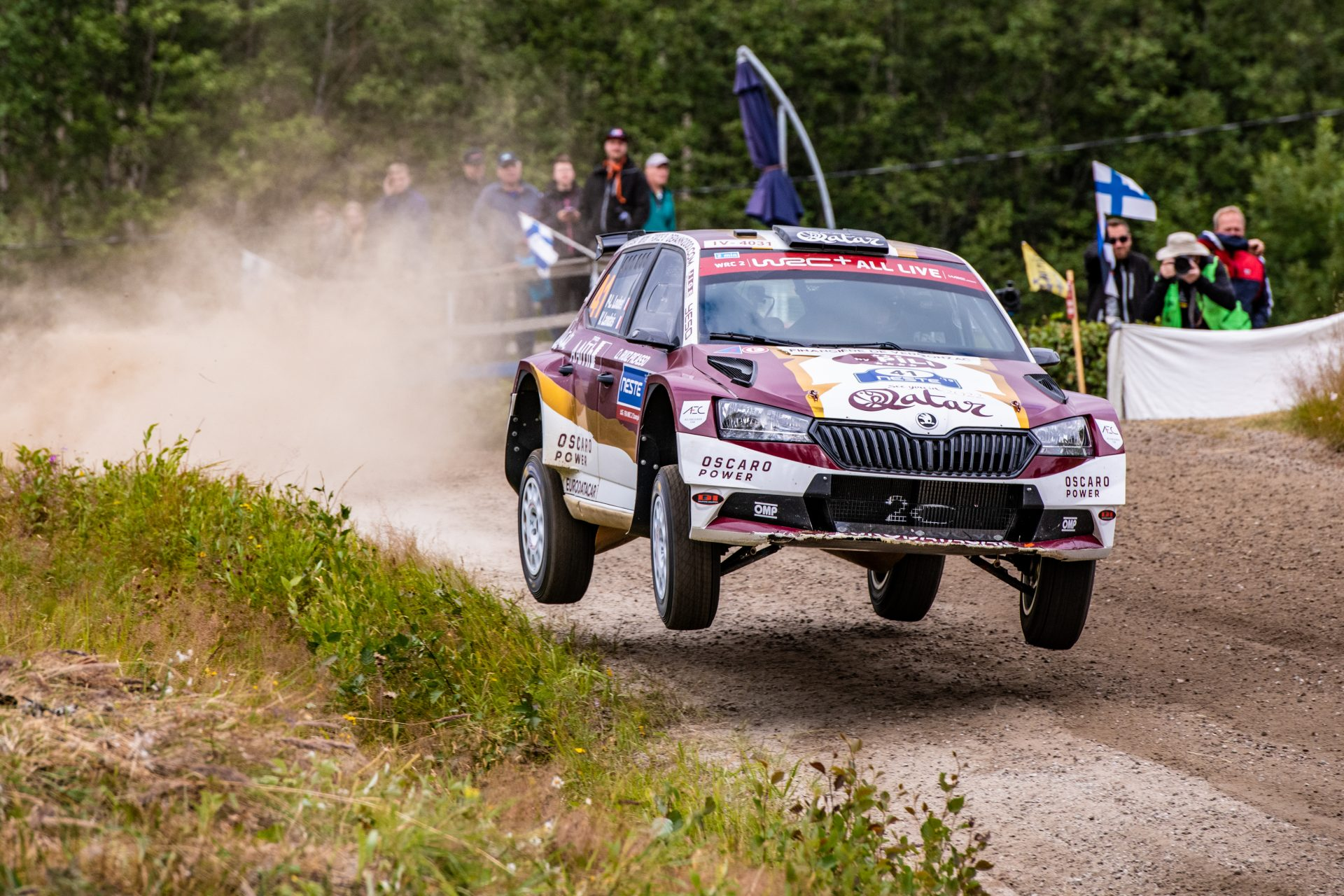 Loubet Grabs World Champion Title in the ŠKODA FABIA R5