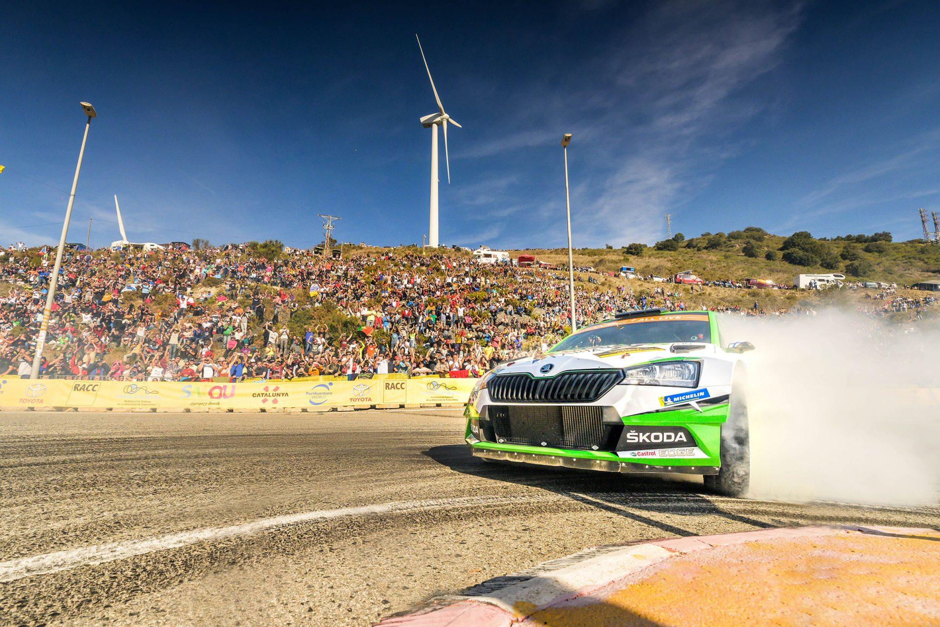 ŠKODA Motorsport Won Another Title in Spain | Video