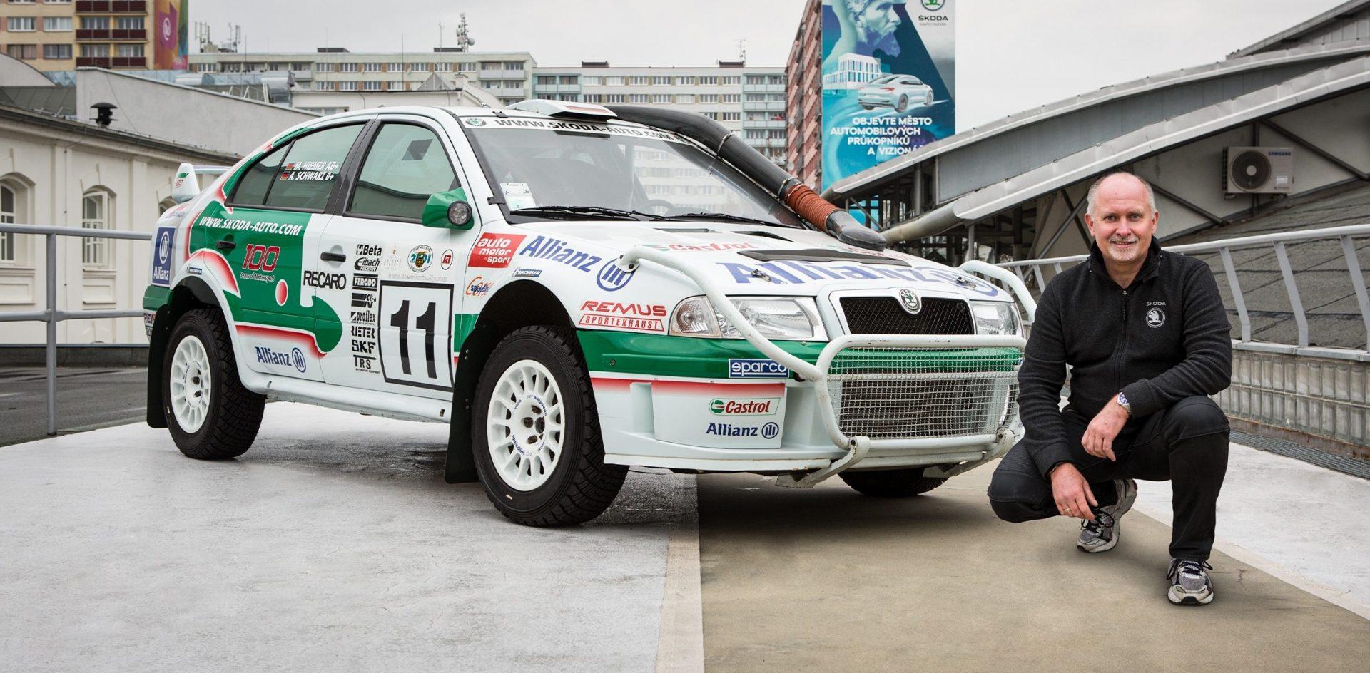 Kde jiná auta selhala, OCTAVIA WRC jela dál, vzpomíná Armin Schwarz
