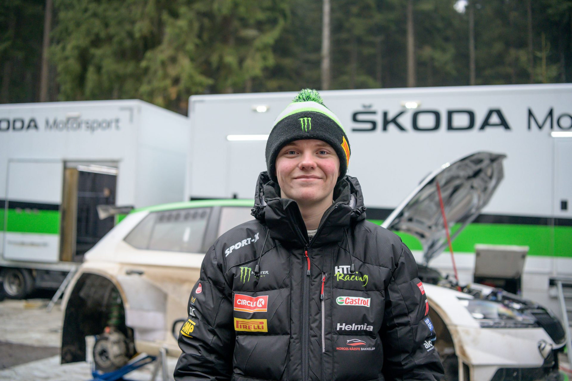 ŠKODA Motorsport cooperates with Oliver Solberg
