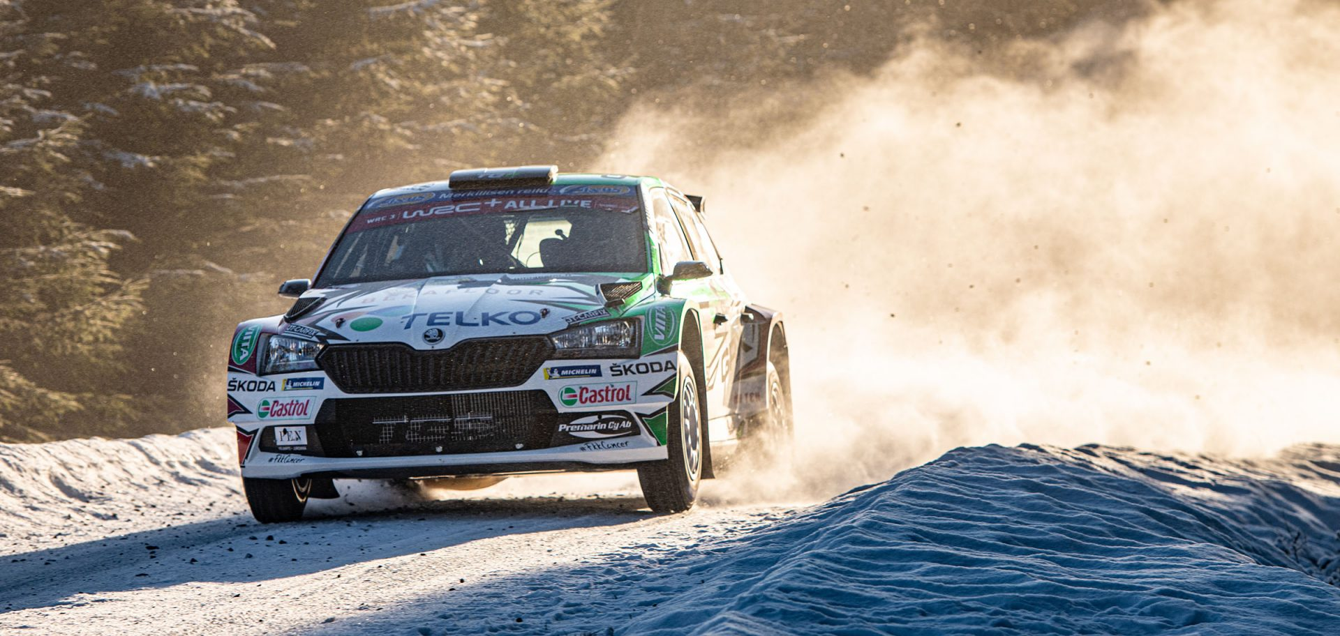 Download wallpapers from the Rally Sweden to your phone