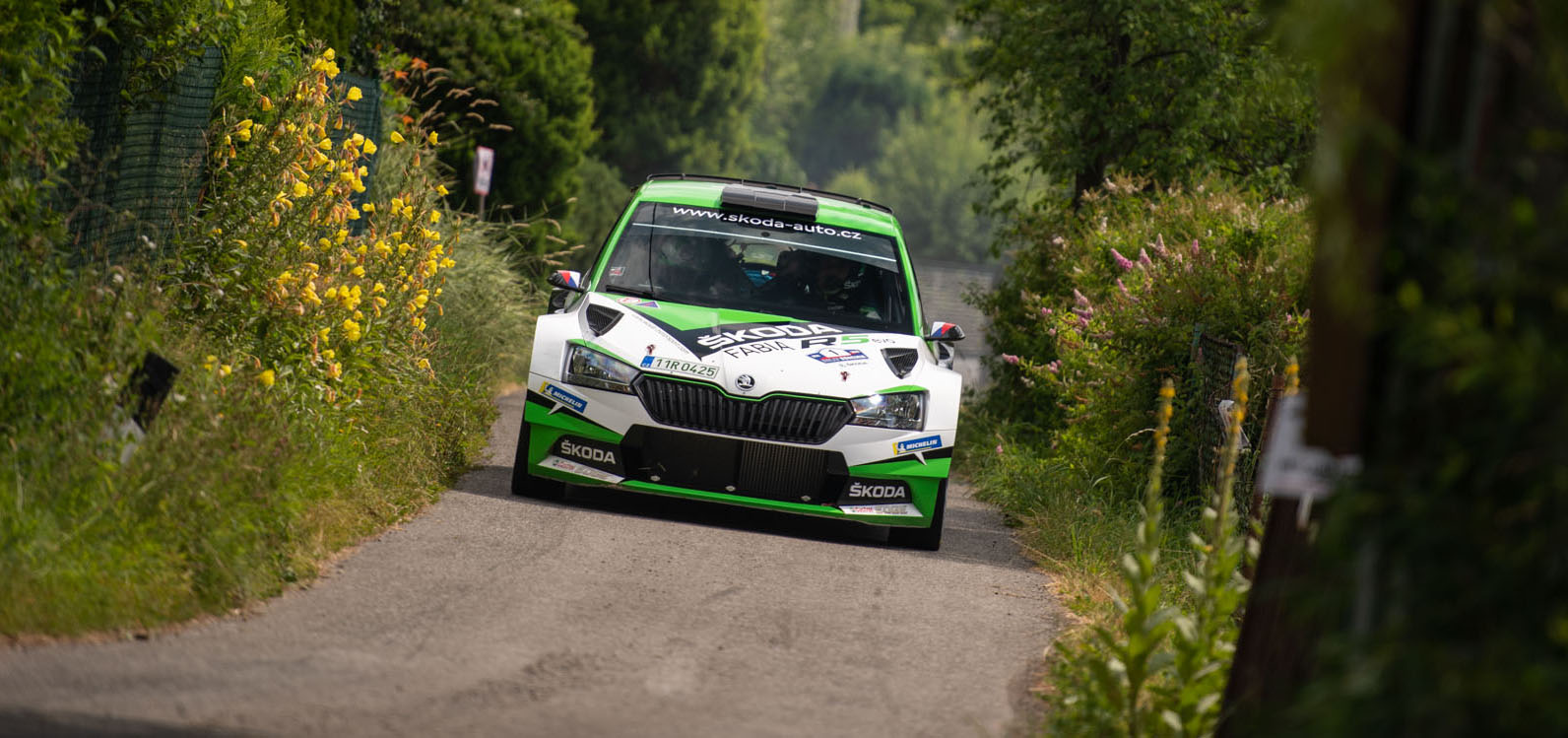 Rally Bohemia Begins, ŠKODA Motorsport Defends Victory