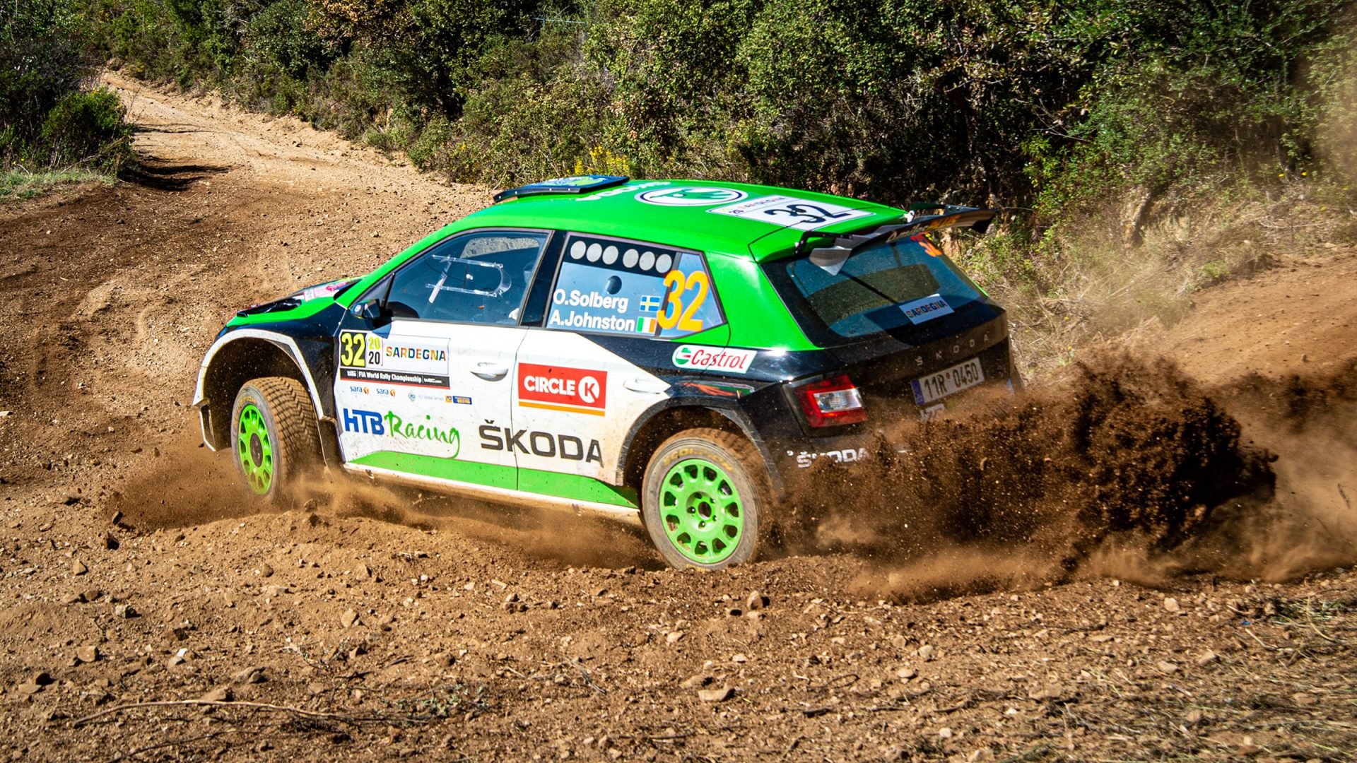 A Scorching-hot Rally Italia Sardegna Starts