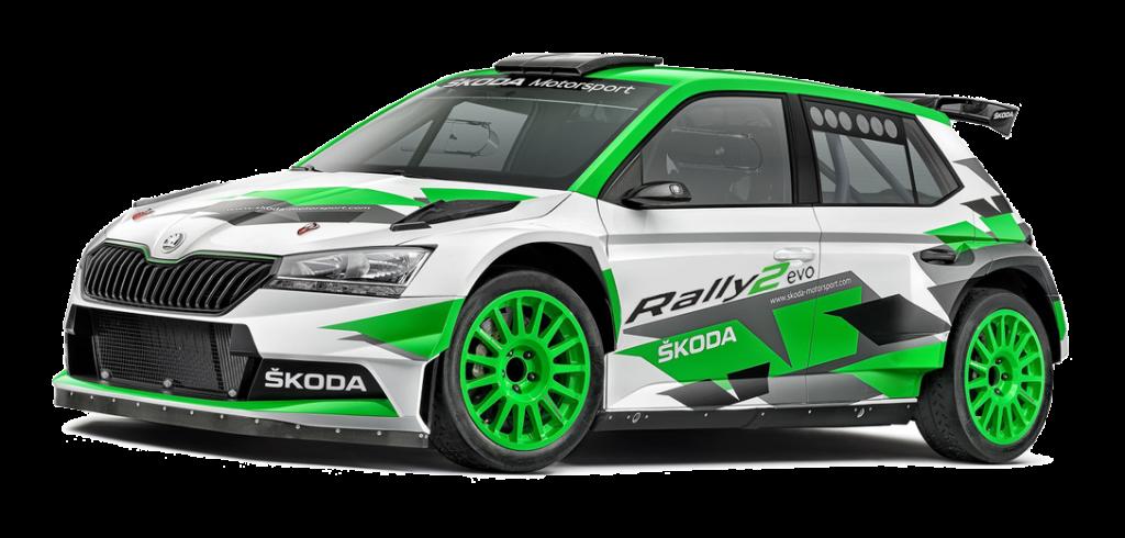 ŠKODA FABIA Rally2 evo 2021
