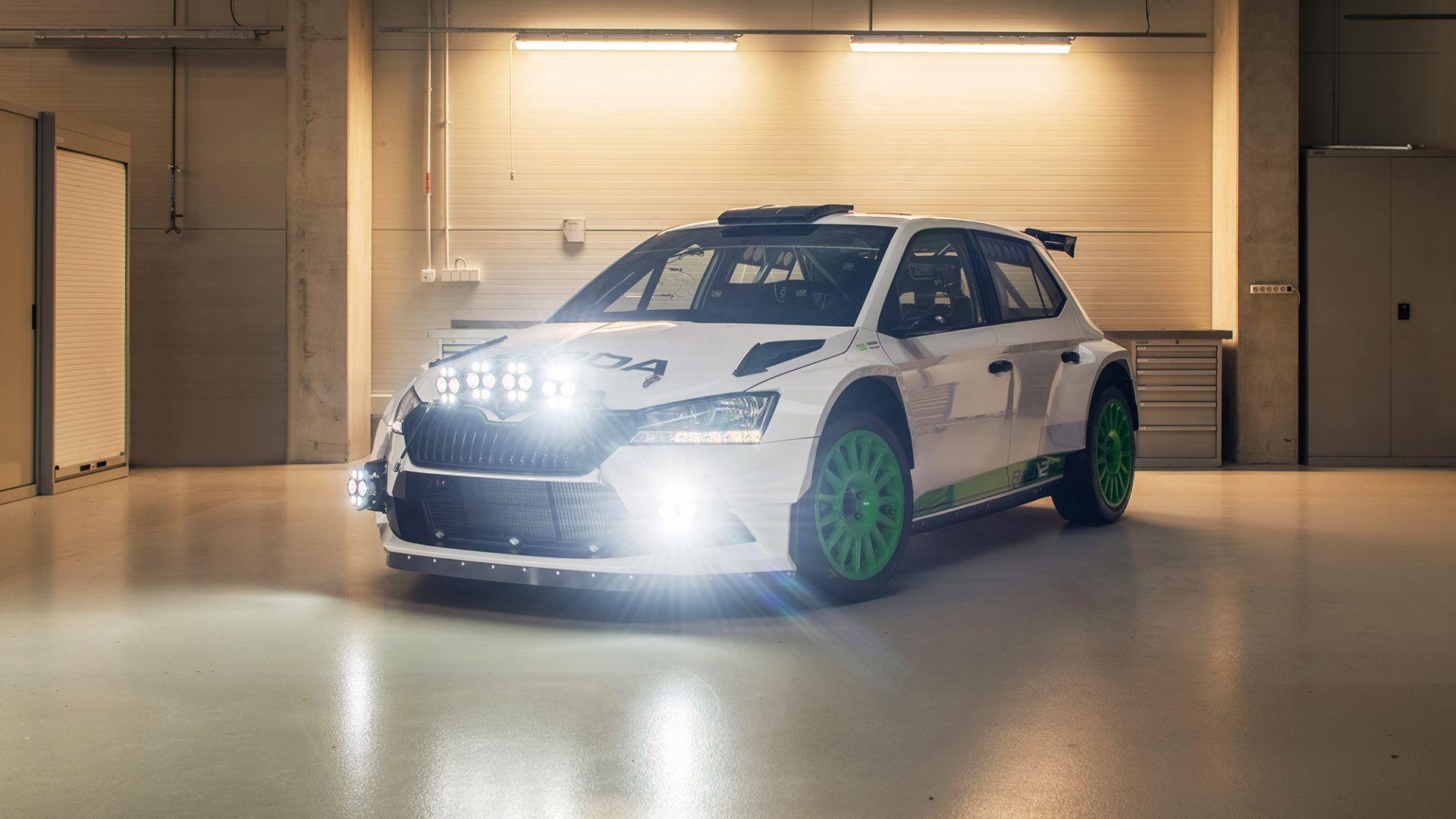 The Unique FABIA Rally2 evo Edition 120. Only 12 Cars Will Be Produced