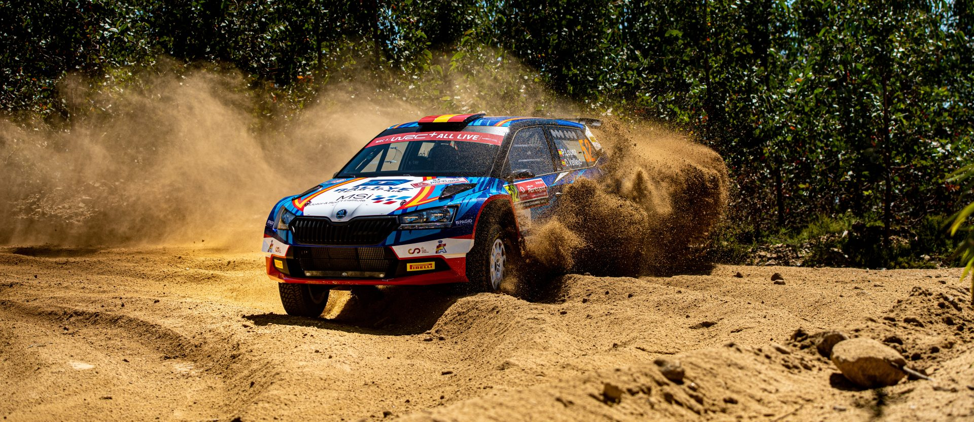 Stáhněte si tapety do mobilu z Rally de Portugal