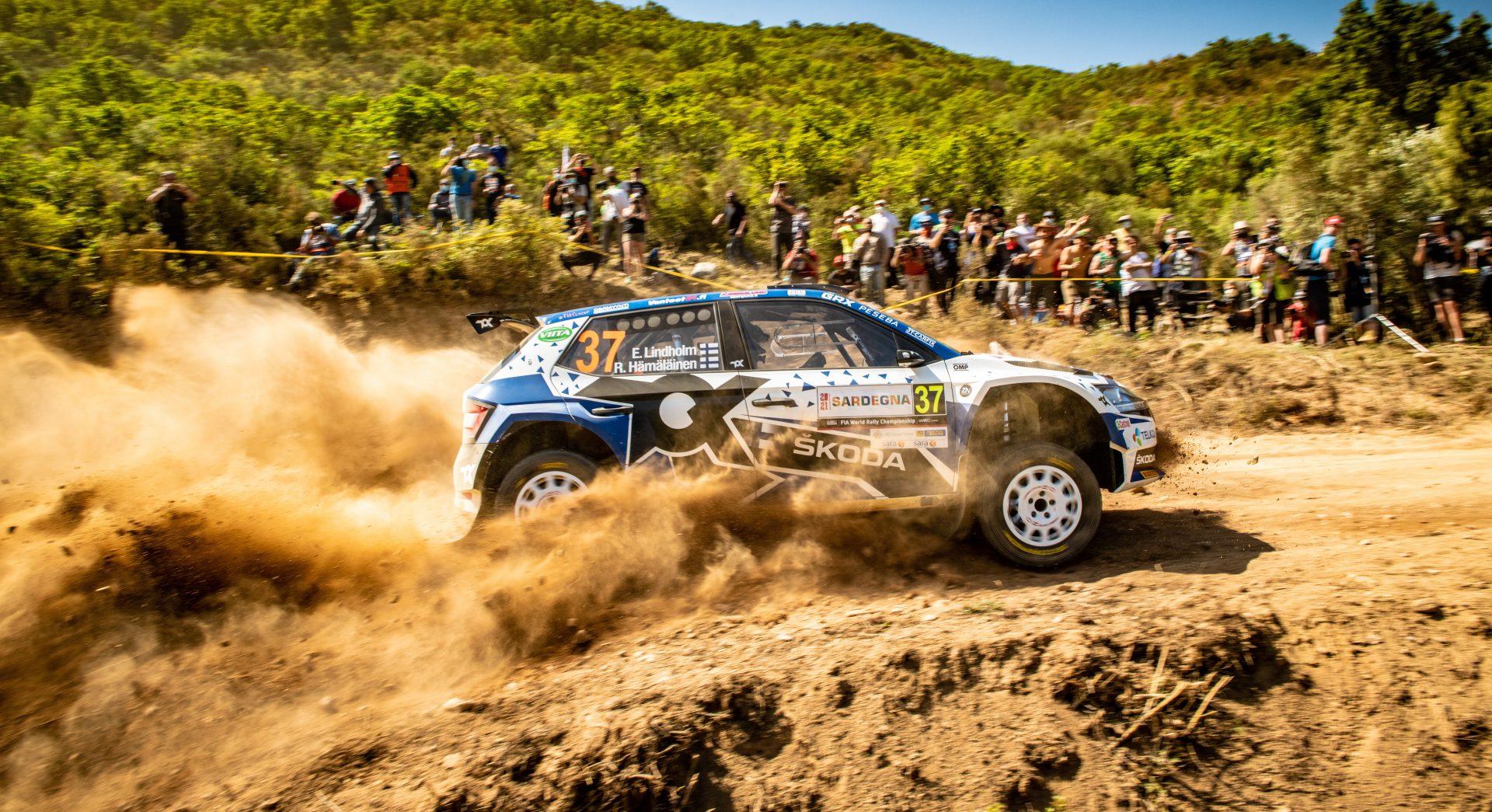 Zátěžová zkouška na rozpálené šotolině | Rally Italia Sardegna