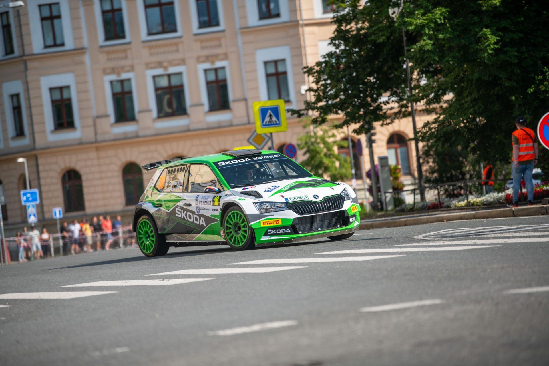 Vydařená oslava na Rally Bohemia