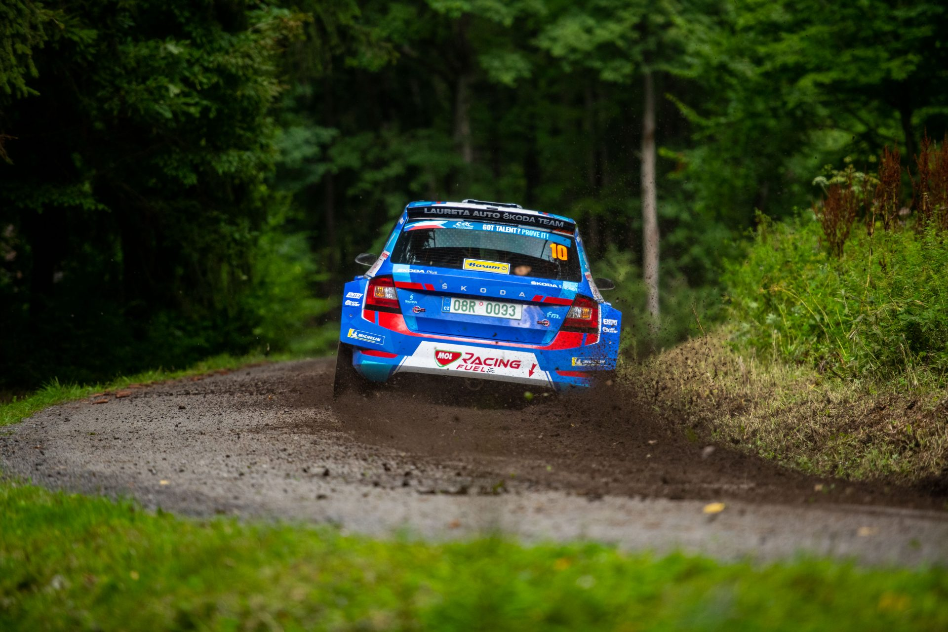 Download Barum Czech Rally Zlín Wallpapers for Your Phone