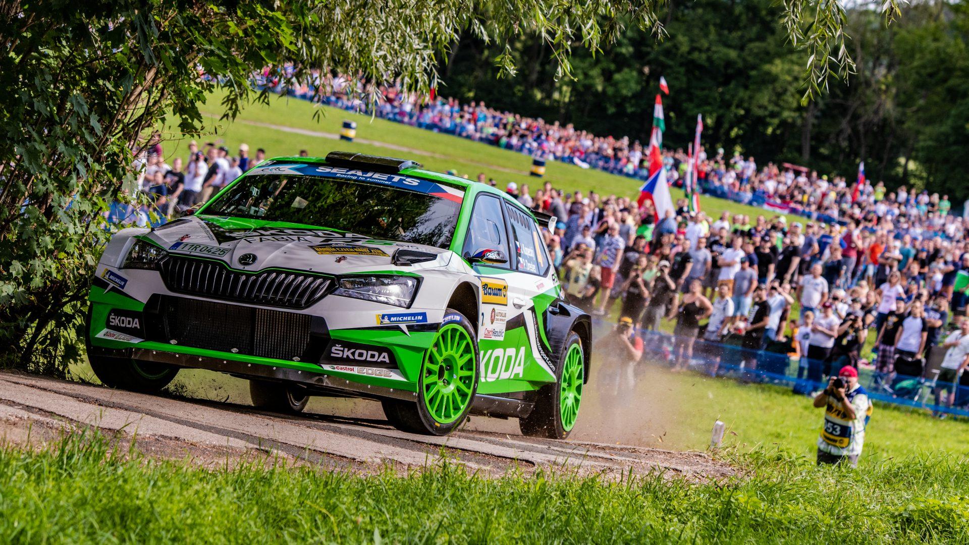 Rally feast with European participation | Barum Czech Rally Zlín