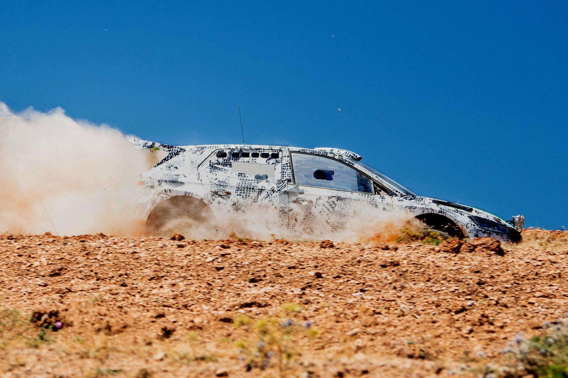 Nová generace vozu ŠKODA FABIA ve verzi Rally2 se již testuje