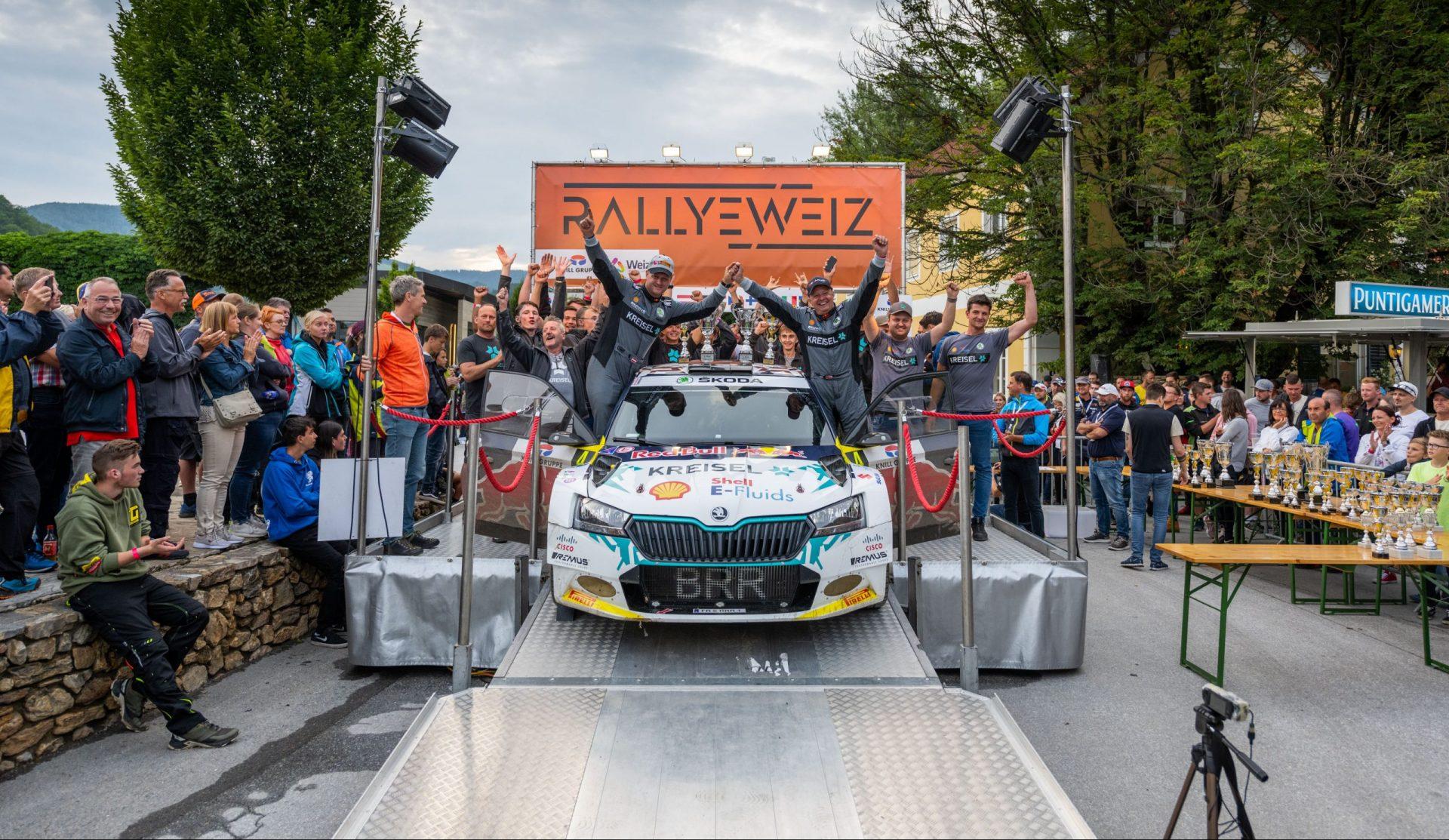 Electric rally premiere | Rallye Weiz