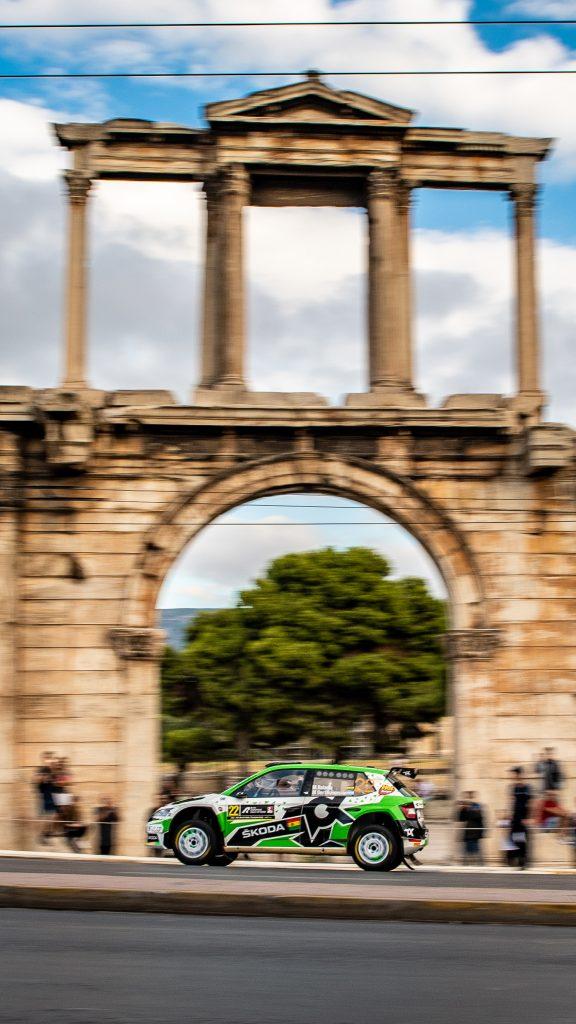 Acropolis Rally Greece 2021 – tapeta