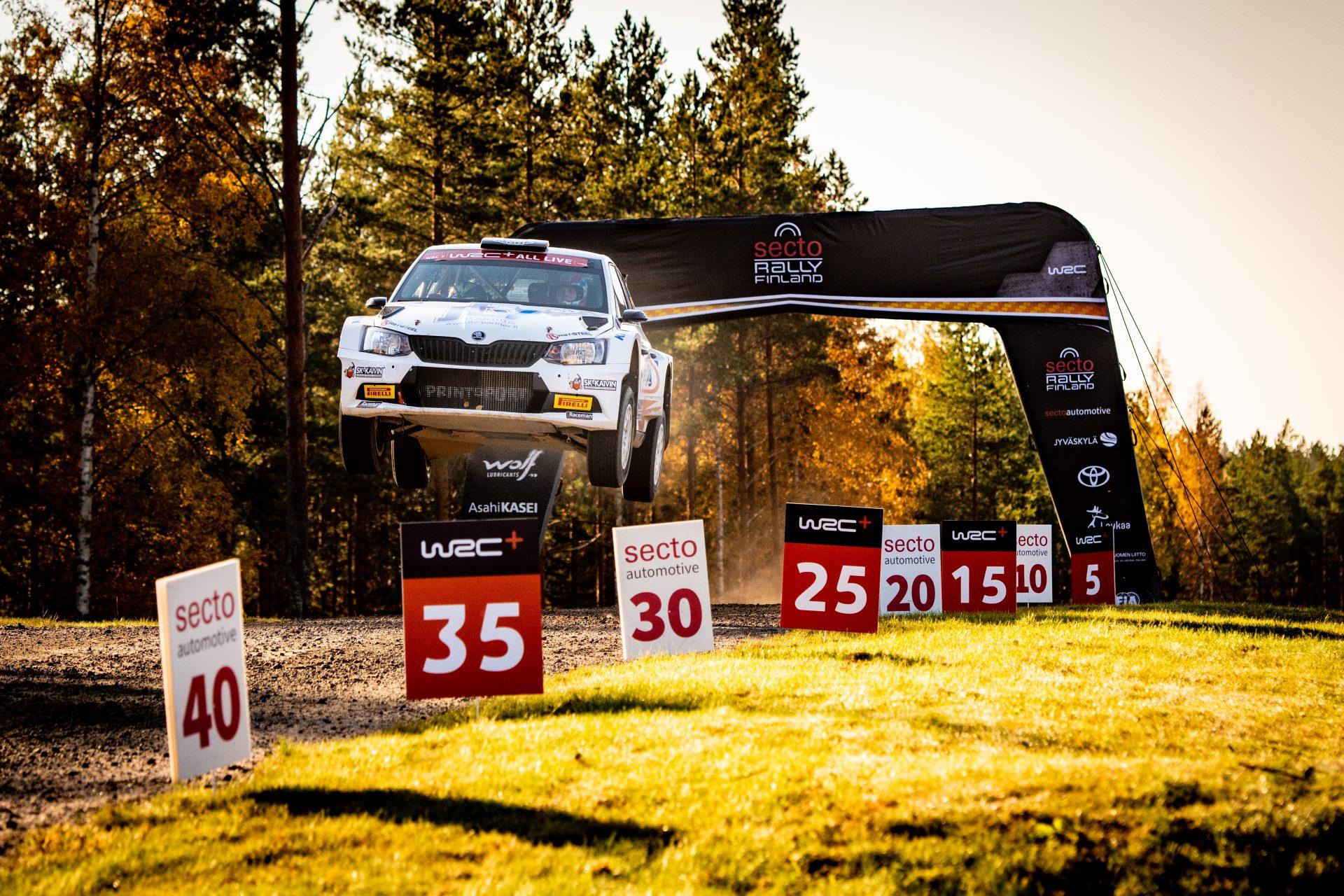 Lekce létání s nutnou dávkou odvahy | Rally Finland
