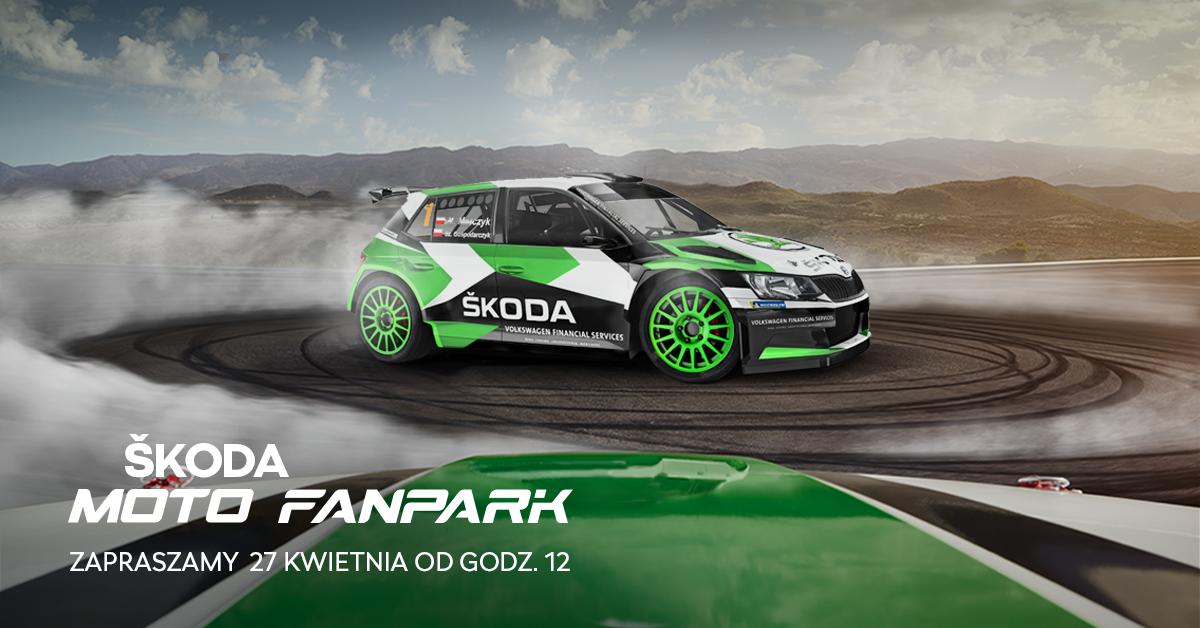 GNAJ NA RAJD! ŠKODA Polska Motorsport zaprasza do Moto Fanparku